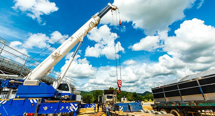 crane loading service