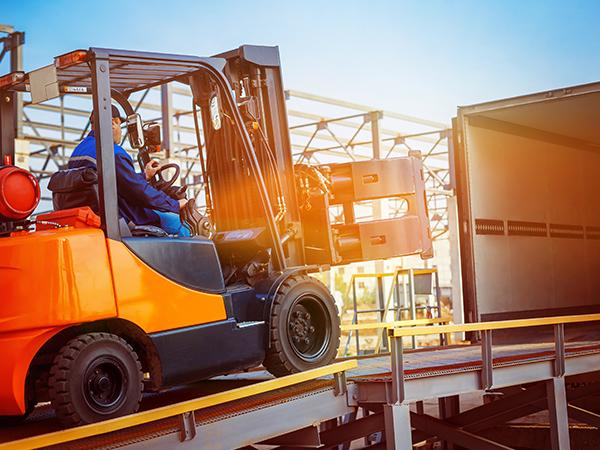 loading/unloading logistics